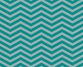 stock photo of zigzag  - Teal Chevron Zigzag Textured Fabric Pattern Background that is seamless and repeats - JPG