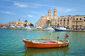 stock photo of southern  - Panoramic view of Molfetta - JPG