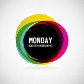 picture of weekdays  - Good Morning Monday - JPG