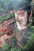 pic of emei  - Leshan Giant Buddha in Mt - JPG