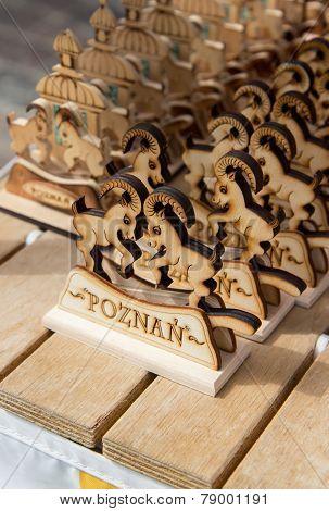 Wooden souvenir, Poznan, Poland