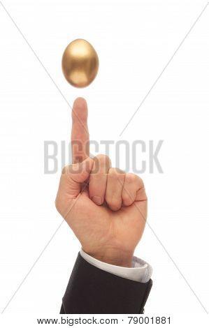 Balance The Golden Egg