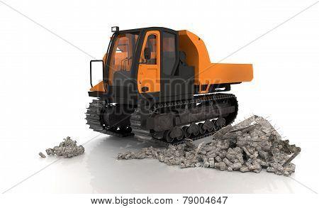 Crawler Type Vehicle
