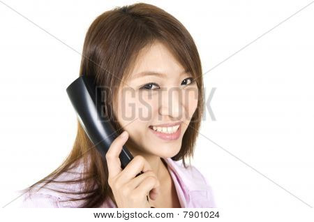 Asian Female Call Center