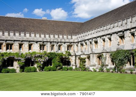 Cloisters At Magdalen College, Oxford