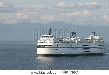 Cruise Ship In Vancouver. British Columbia. Canada