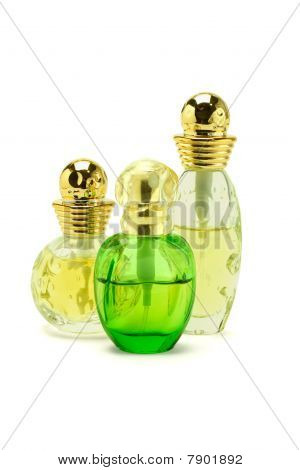 Three Bottles Of Perfume