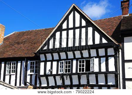 Timbered building, Evesham.