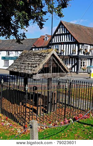 Stocks in village, Evesham.