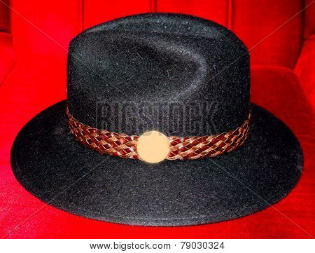 The hat.