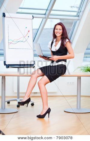 Pretty Businesslady