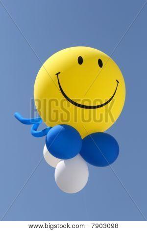 Smile at baloon