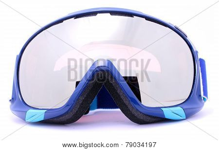 Winter Skiing goggles isolated on white background