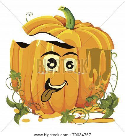 Halloween pumpkins faces
