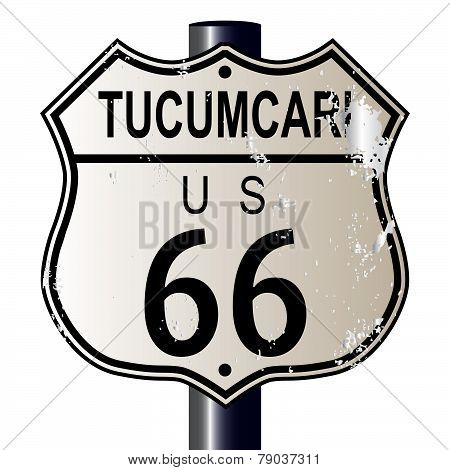Tucumcari Route 66 Sign