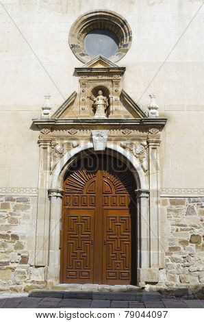 Church doorway