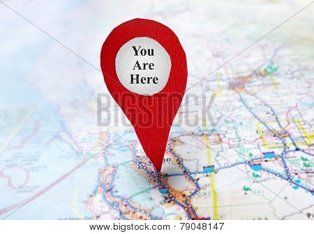 You Are Here Locator