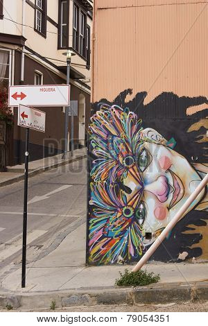 Urban Art of Valparaiso