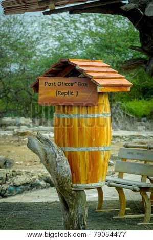 post office box in galapagos islands