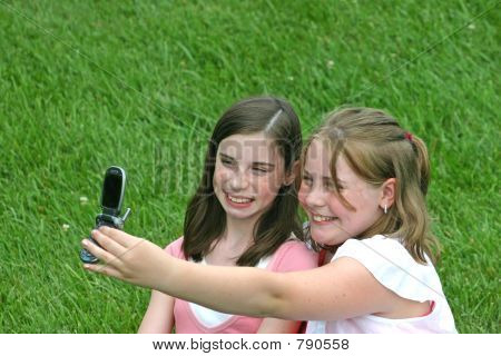 Girls Taking Picture