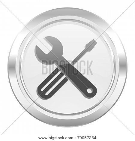 tools metallic icon