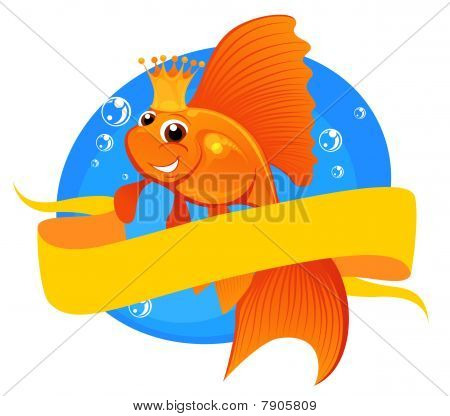 Goldfish And Banner