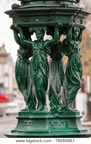 Paris, Wallace Fountain