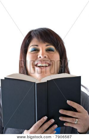 Happy Smiling Book Reader