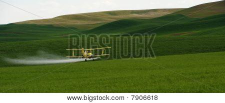 Crop Dusting Airplane