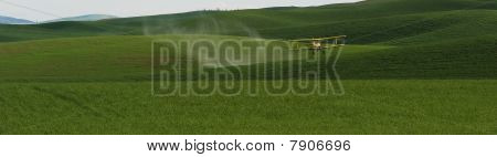 Biplane Crop Duster