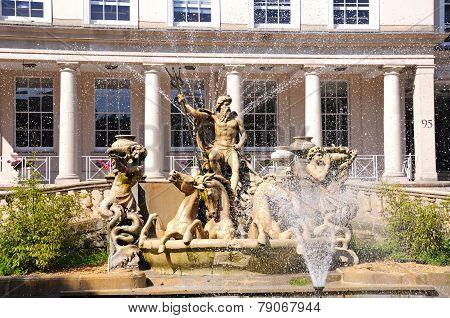 Neptune fountain, Cheltenham.