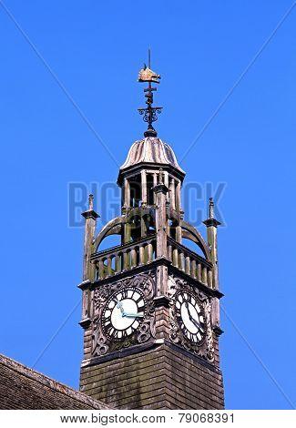 Moreton In The Marsh clock tower.