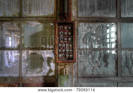 Old Abandoned Fuse Box