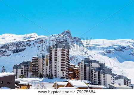 View of Tignes Val Claret