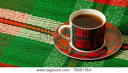 Cup Of Tea On The Blanket