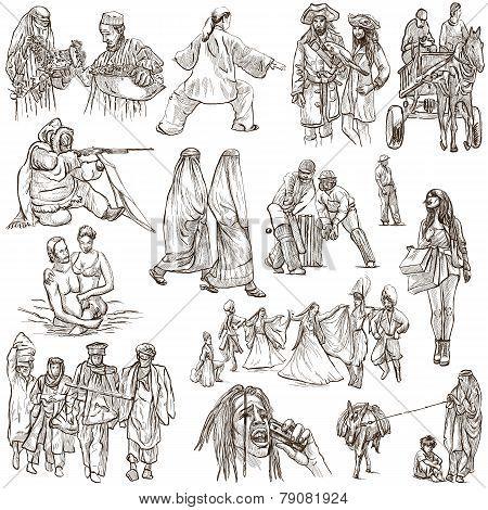 Natives - Hand Drawn Illustrations