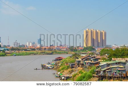 Asian River Contrasts