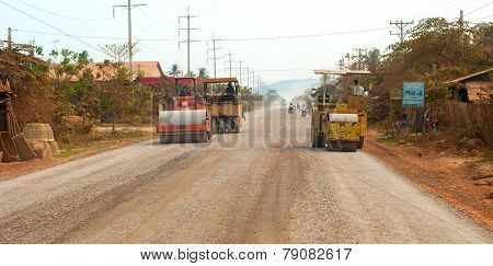 Cambodian Road Work