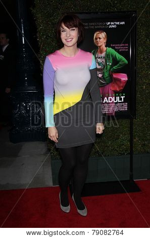 LOS ANGELES - DEC 15:  DIABLO CODY arrives to the