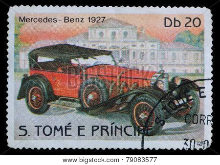 Stamp Printed In S.tome E Principe