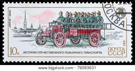 History Firefighter Transport