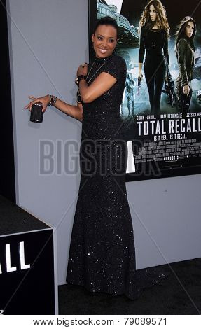 LOS ANGELES - AUG 01:  Aisha Tyler arrives to