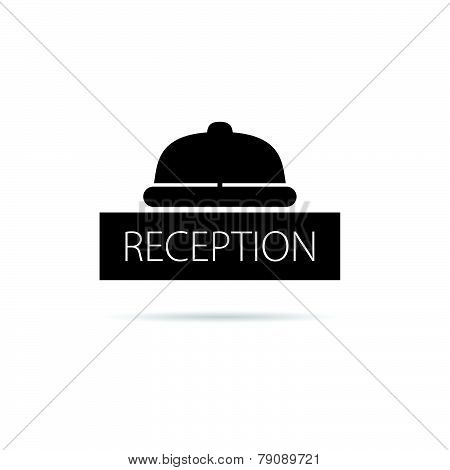 Reception Bell Icon Vector Illustration