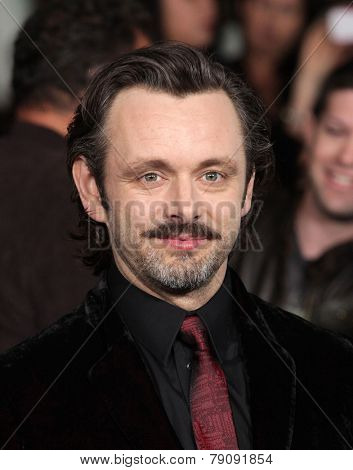 LOS ANGELES - NOV 11:  Michael Sheen arrives to the