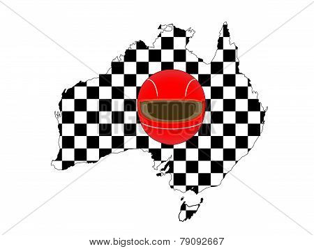Racing Map Australia