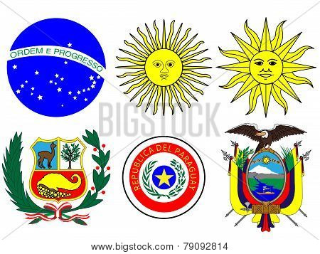 Coats Of Arms South America
