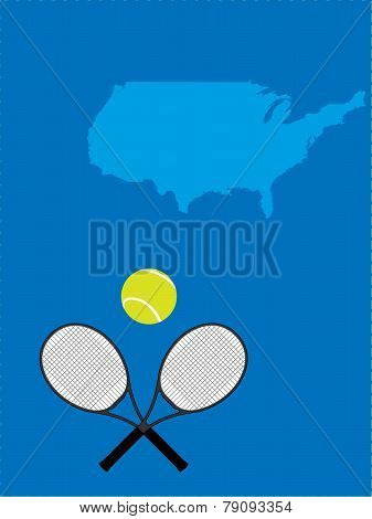 Tennis Map United States