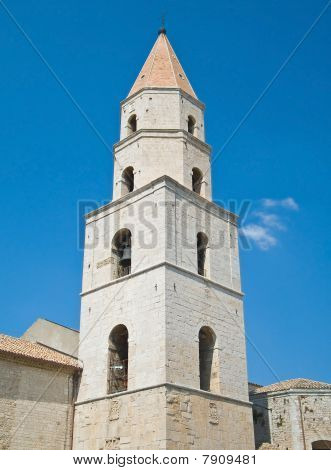 Belltower St. Andrew Cathedral. Venosa. Basilicata.
