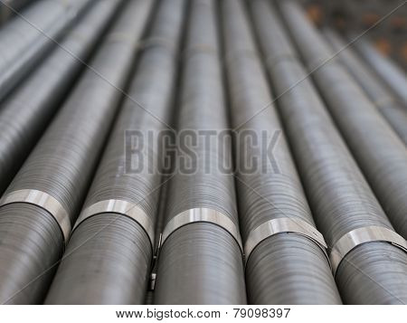 Industrial Cooling Pipes