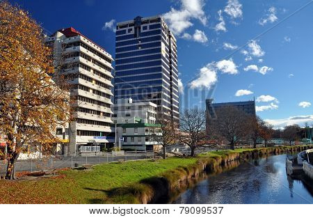 Price Waterhouse Building Awaits Demolition, Christchurch New Zealand